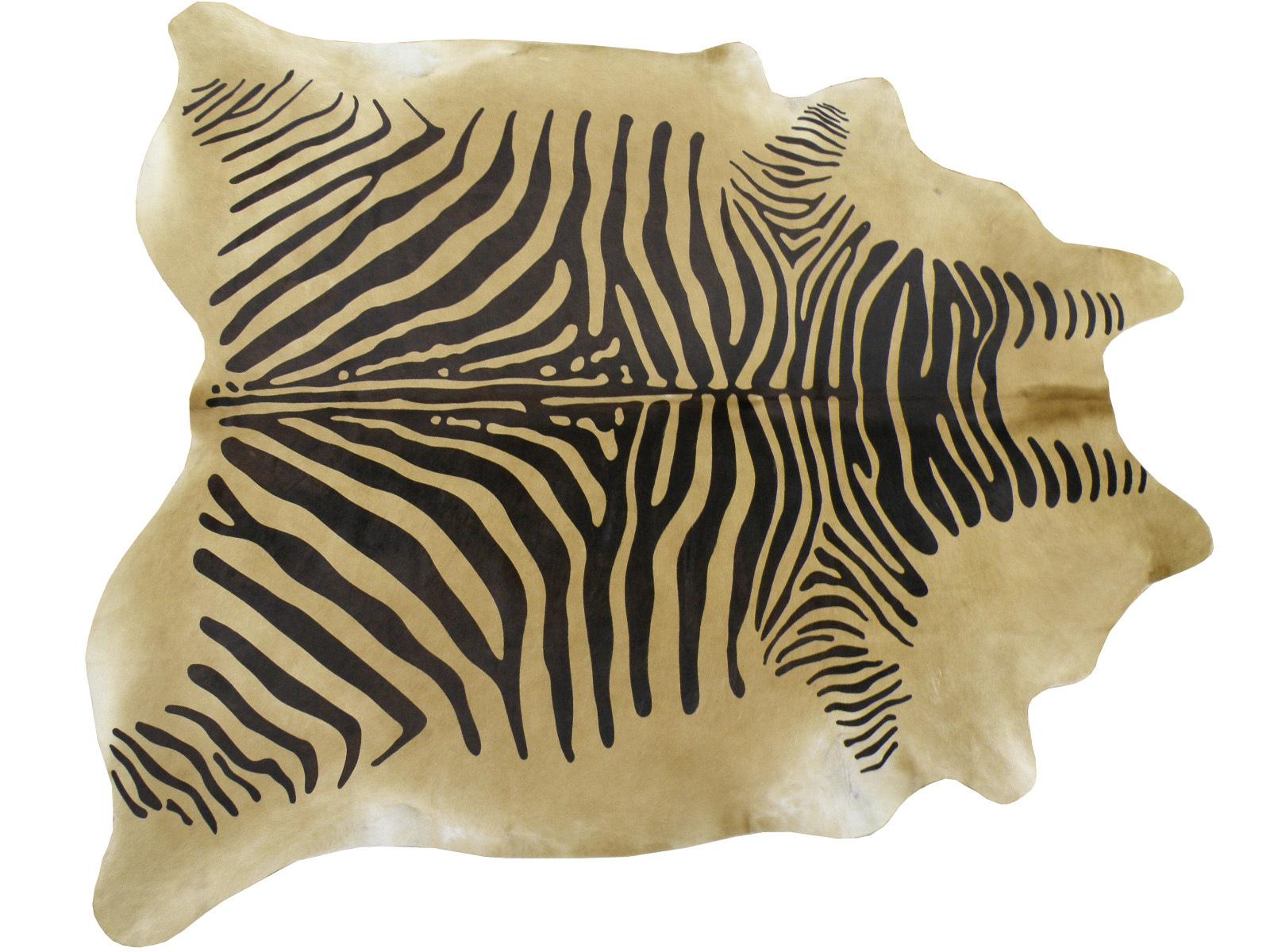 Шкура коровы крашеная под Зебру арт.: 25215
