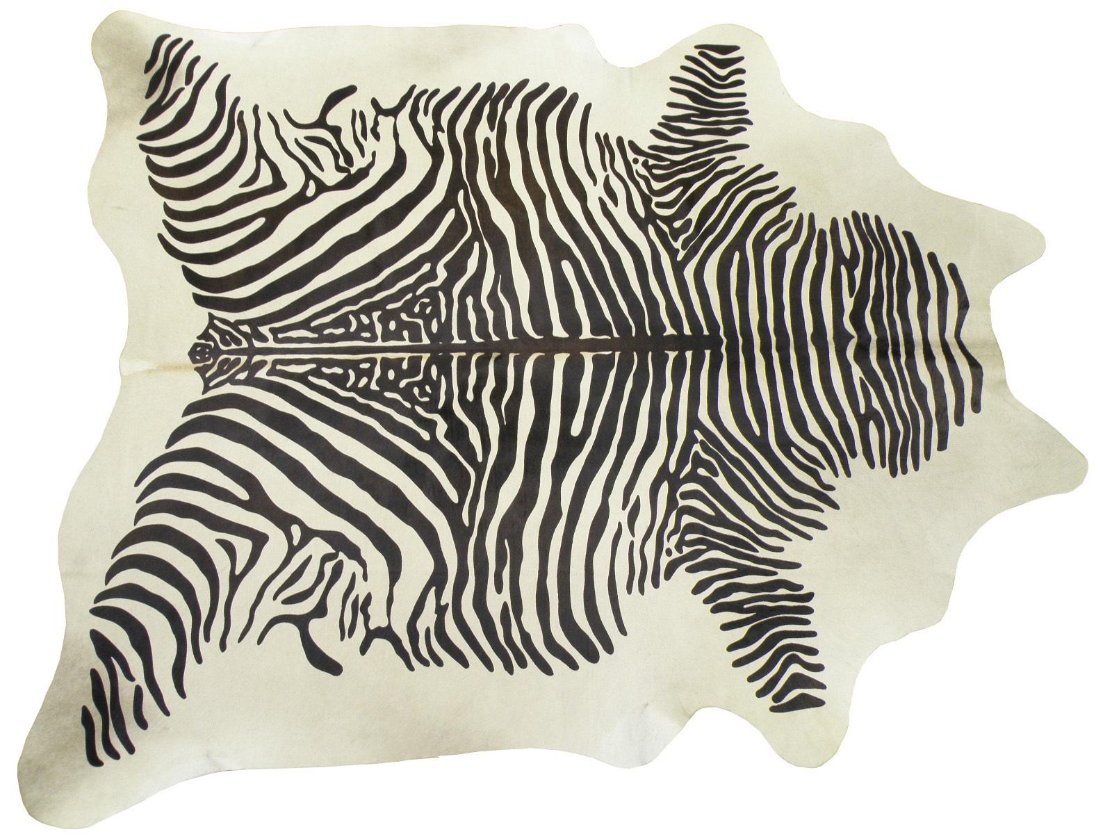 Шкура коровы крашеная под Зебру арт.: 25221