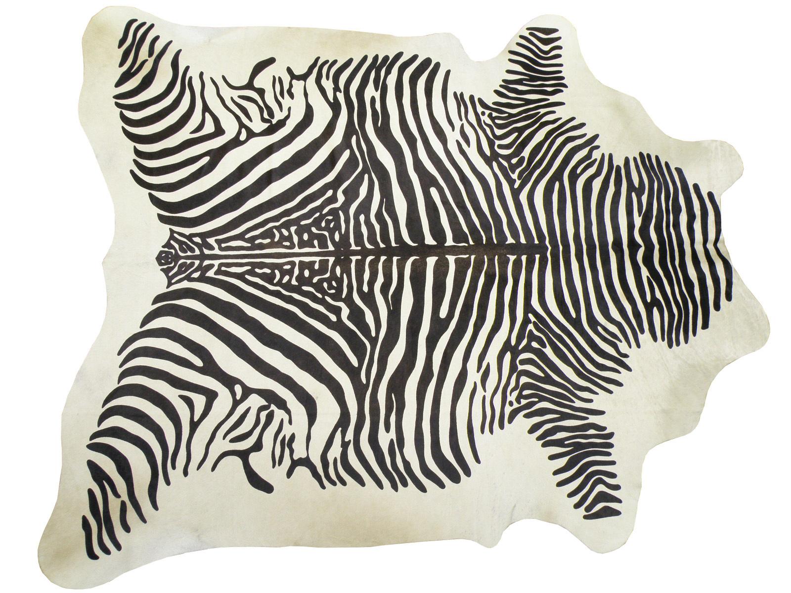 Шкура коровы крашеная под Зебру арт.: 25243