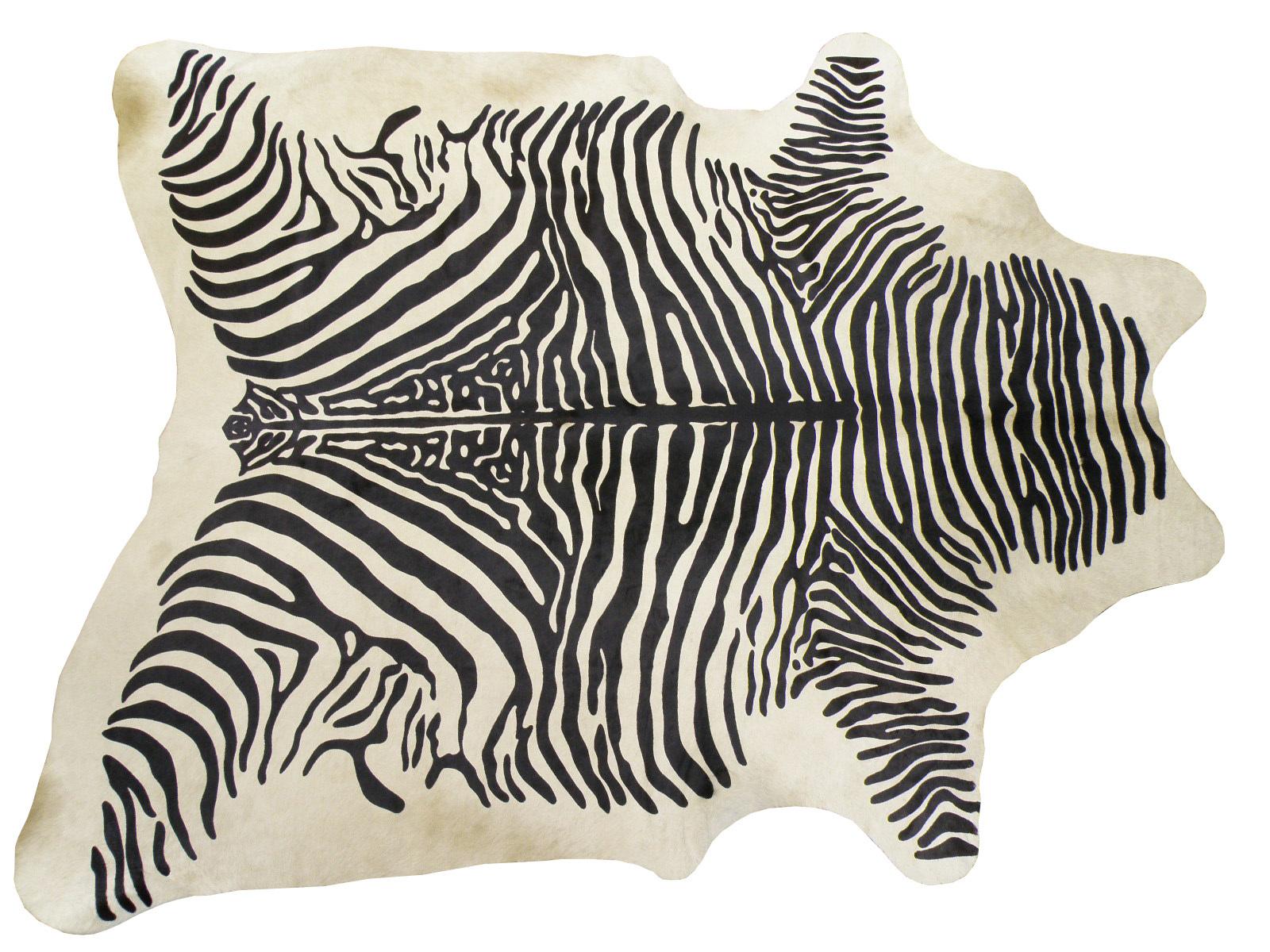 Шкура коровы крашеная под Зебру арт.: 25237