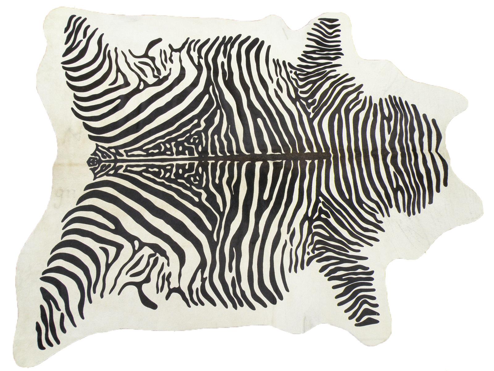 Шкура коровы крашеная под Зебру арт.: 25242