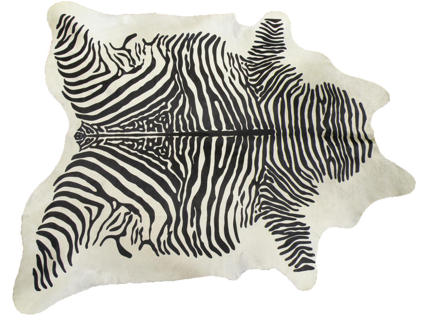 Шкура коровы крашеная под Зебру арт.: 25238