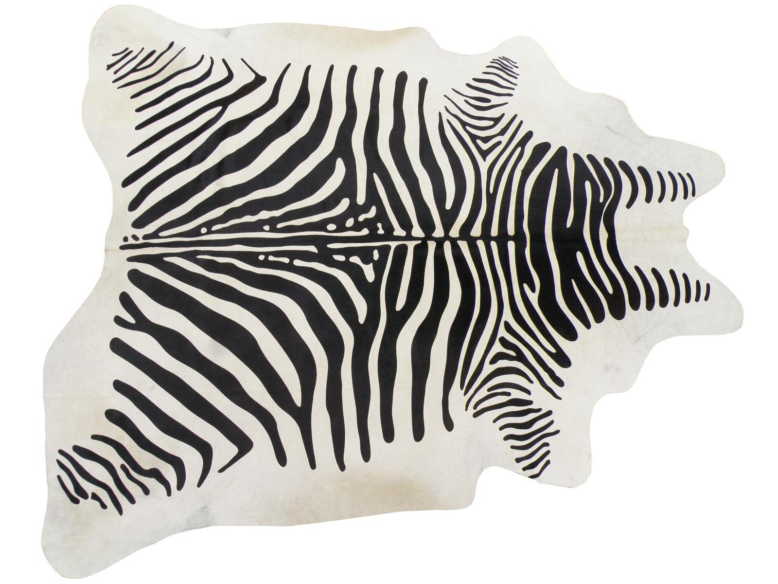 Белая шкура под зебру арт.: 25266