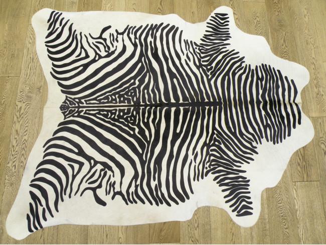 Шкура зебры — окрашенная коровья шкура арт.: 23146